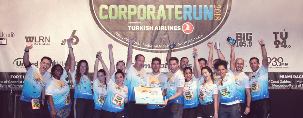 Boats Group team at Corporate Run 2018